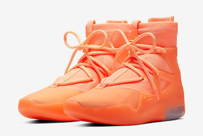 Nike Air Fear Of God 1 Orange Pulse Toe