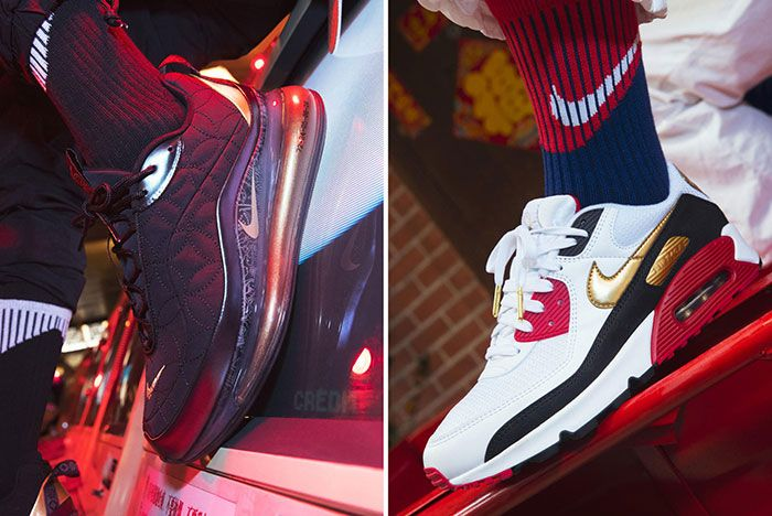 Nike Chinese New Year 2020 Rat Shoes Air Max 90 720 On Foot