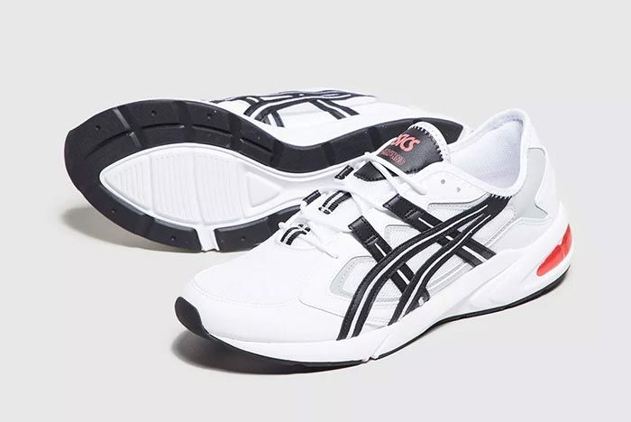 Asics Kayano 5 1 White Black Pair