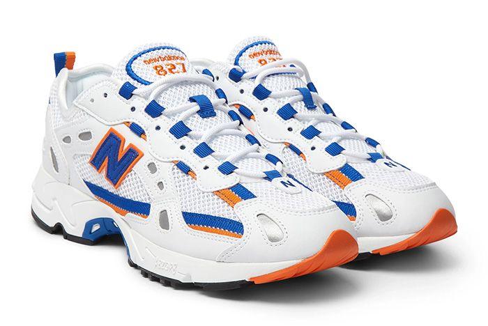 New Balance 827 Blue Orange Quarter 1