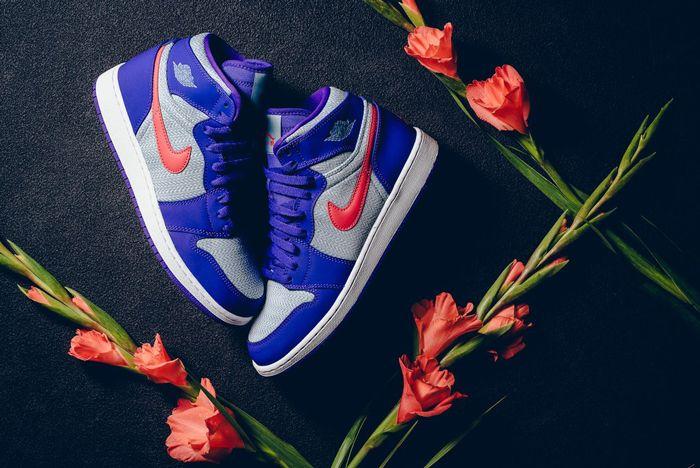 Air Jordan 1 High Fierce Purple 1