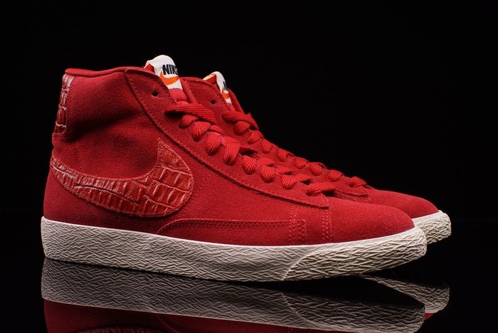 Nike Blazer Mid Gym Red 1