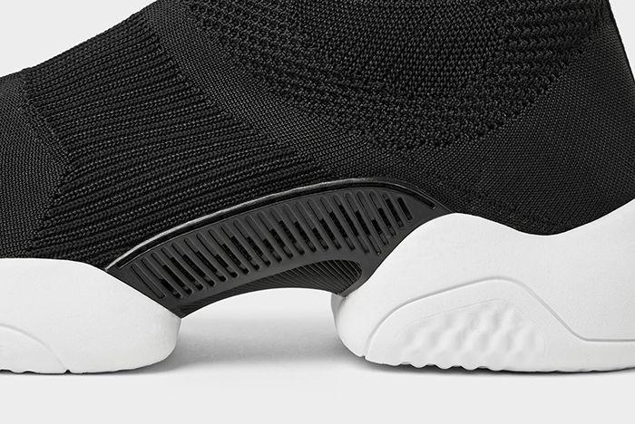 Zara Black High Top Sneakers 3