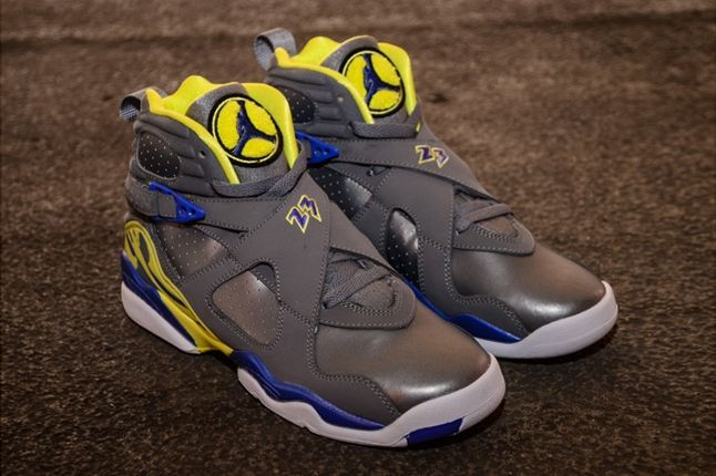 Air Jordan 8 Gs Laney Profile 1