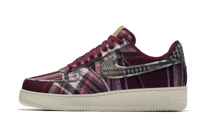 Nike Air Force 1 Pendleton By You Release Date 02