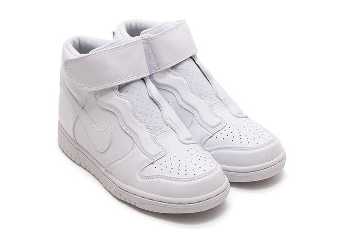 Nike Dunk Hi Ease Womens White 3