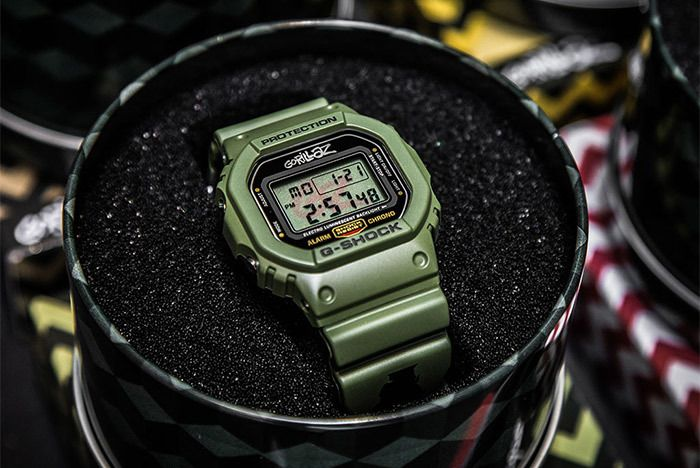 Casio Gorillaz Pack 10