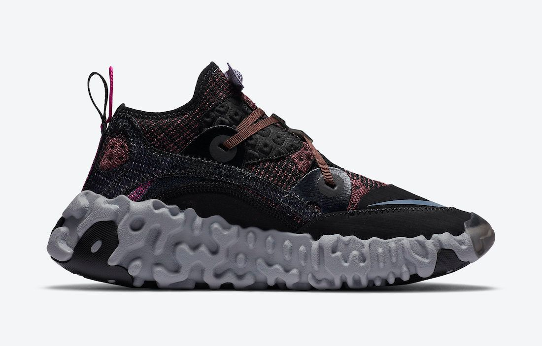 Nike ISPA Overreact Shadowberry Right