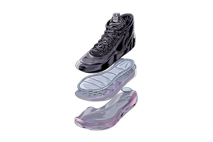 Nike Kd12 The Day One Black White Release Date Sketch Deconstruction