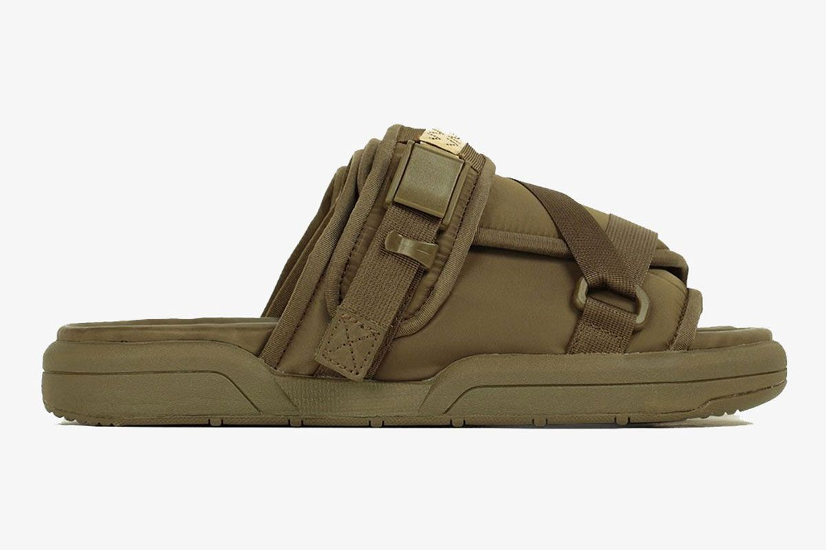 Visvim Christo Sandal Green Right