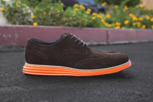 Cole Haan Lunargrand Wingtip Ss13 Brown Profile