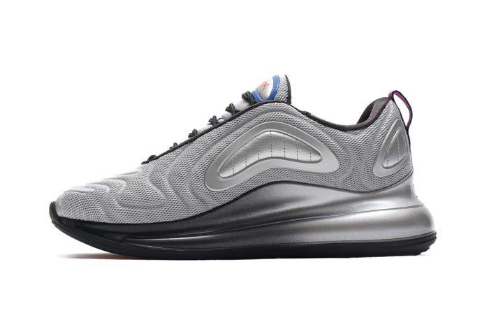 Nike Air Max 720 Metallic Silver Cosmic Clay Medial