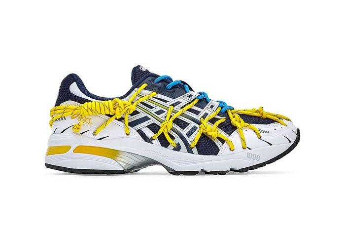 Rokh Asics Sportstyle Gel Kinsei Og Gel 1090 Dover Street Market White Yellow