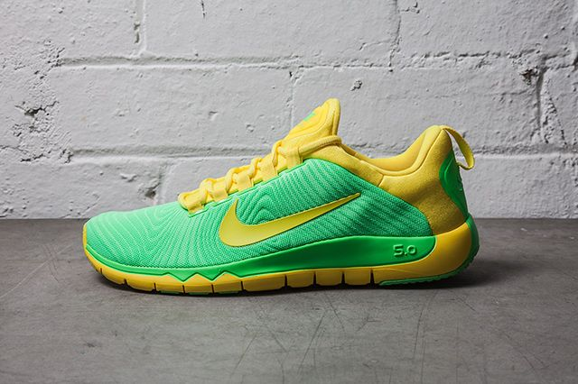 Nike Free Trainer Nrg Neo Lime Vibrant Yellow