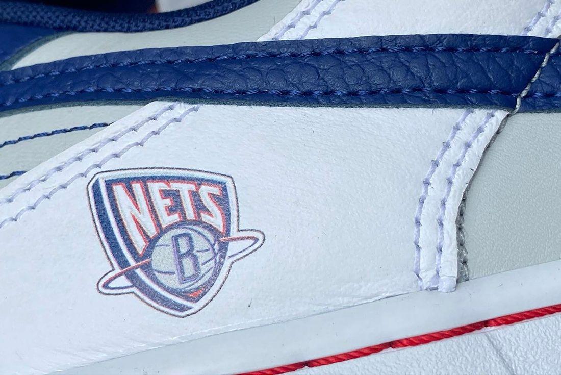 NBA x Nike Dunk Low 'Brooklyn Nets' for NBA's 75th Anniversary