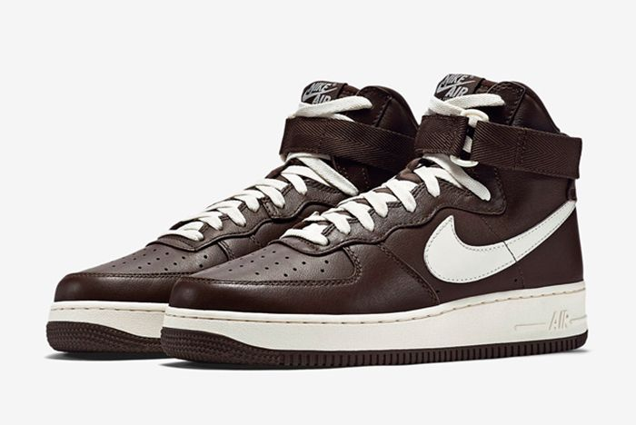 Nike Air Force 1 High Chocolate2