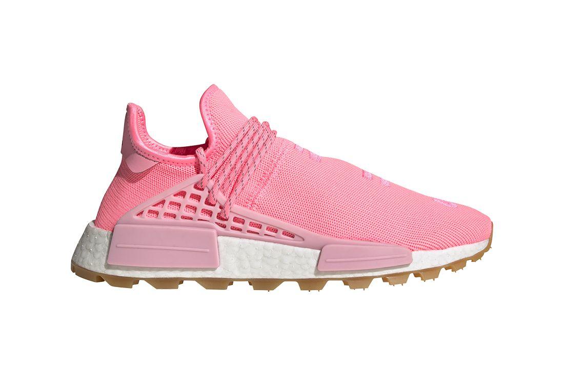 Adidas Pharrell Williams Pink Right