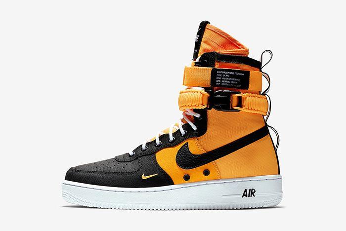 Nike Sf Af1 Black Orange 1