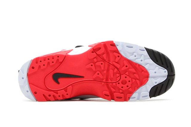 Air Mission Blkwhtred Sole