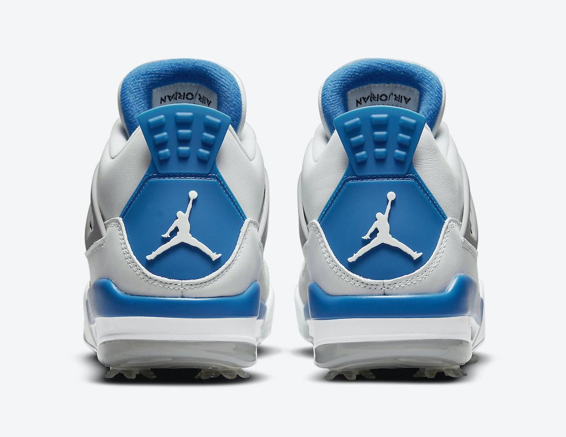 Air Jordan 4 Golf Military Blue CU9981-101