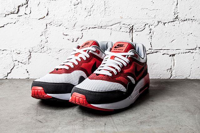 Nike Air Max 1 Light Crimson Dark Grey 5