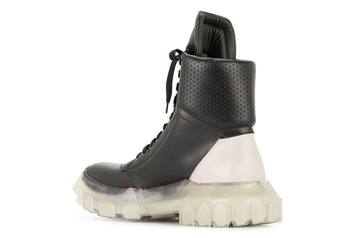Rick Owens Tractor Dunk Boots Black White Release 1 Sneaker Freaker3