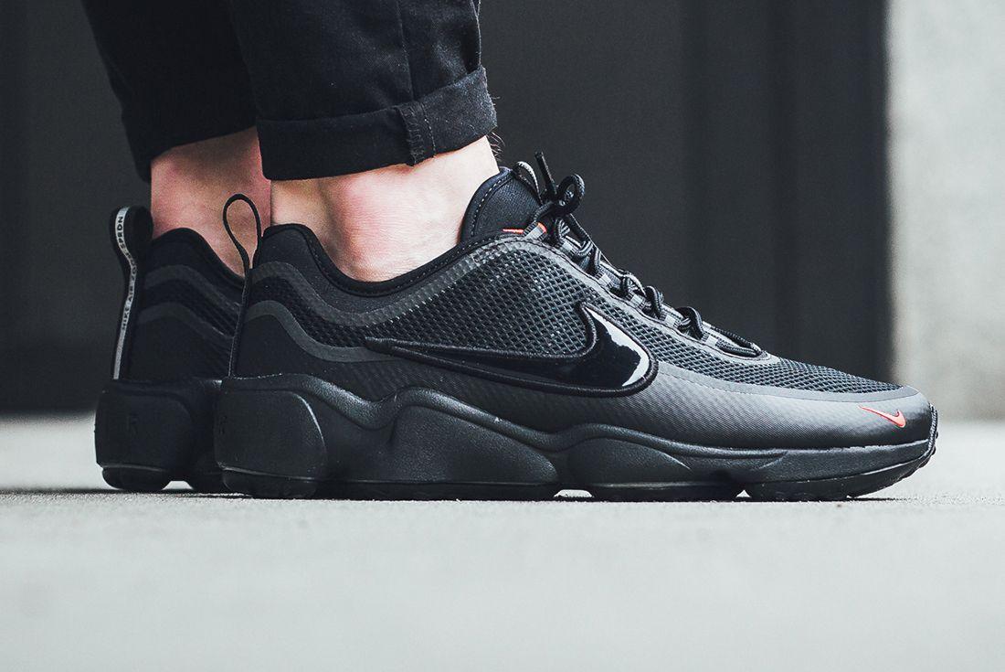 Nike Air Zoom Spiridon Blackred 1