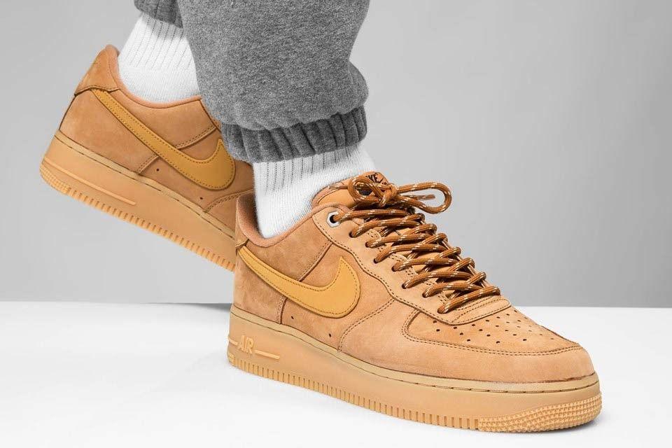 On-Foot: The Nike Air Force 1 'Flax' - Sneaker Freaker