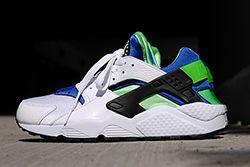 Nike Air Huarache Og Scream Green 2014 Retro Thumb