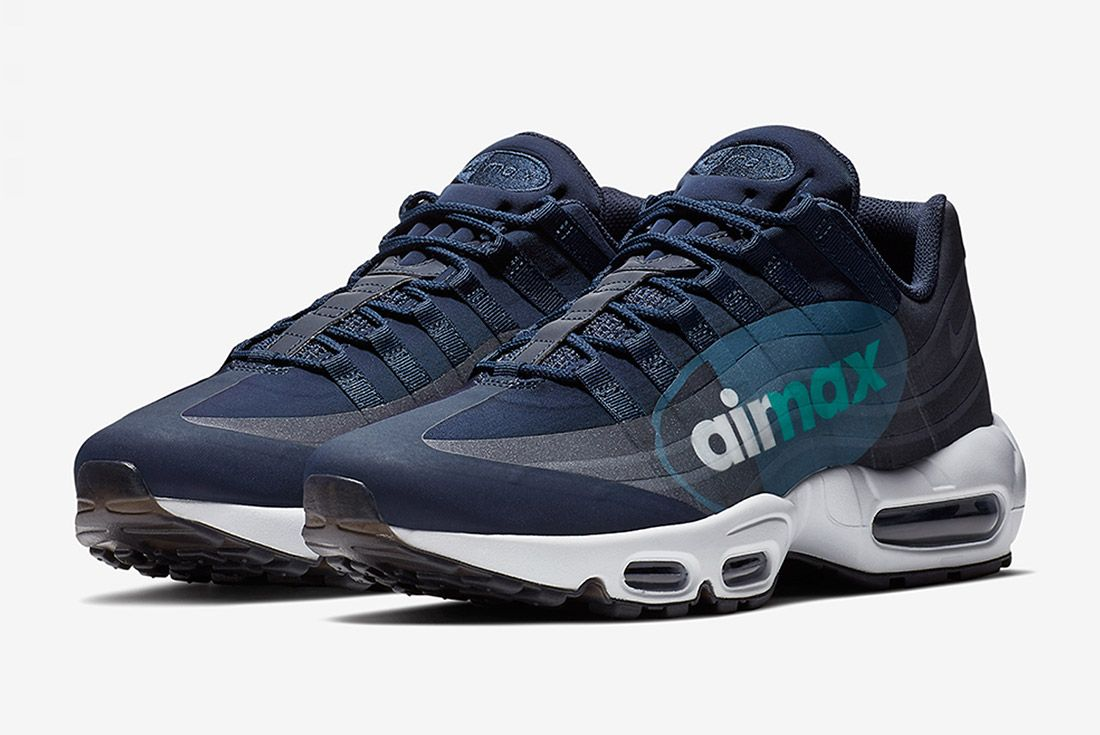 Nike Air Max 95 Big Logo Slate Sneaker Freaker 1