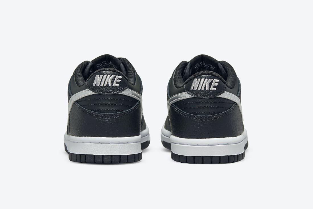 NBA x Nike Dunk Low Black/Silver