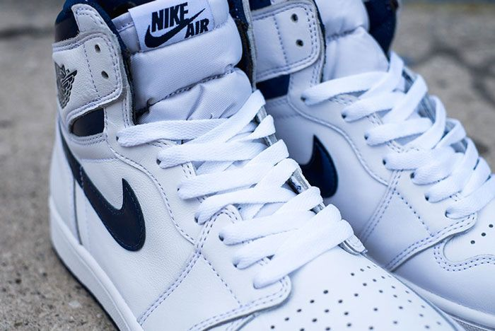 Air Jordan 1 High Og White Navy Release Details 9