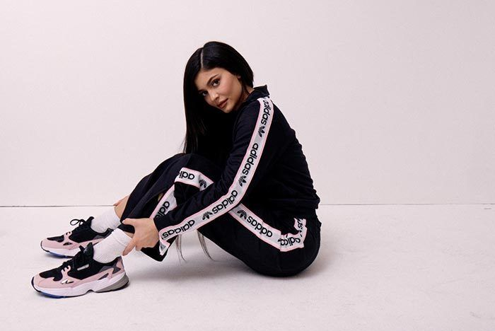 K Ylie Jenner X Adidas Falcon Release Date 14