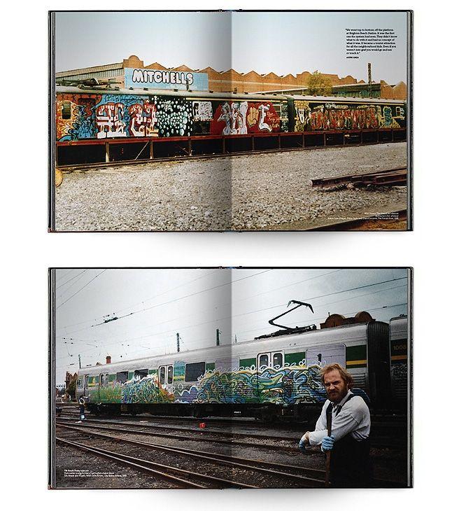 Kings Way Melb Grafitti Book 1