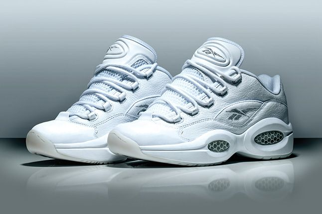 Reebok Classics White Collection Question Low 1
