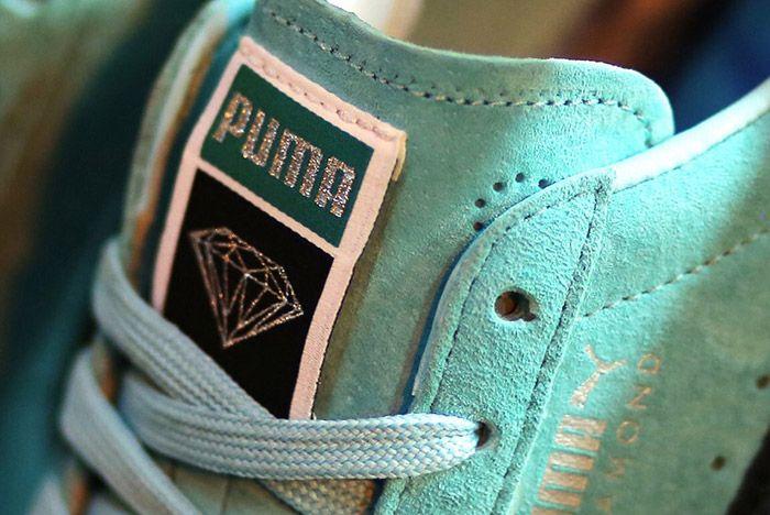 Puma Diamond Supply Suede Clyde 1