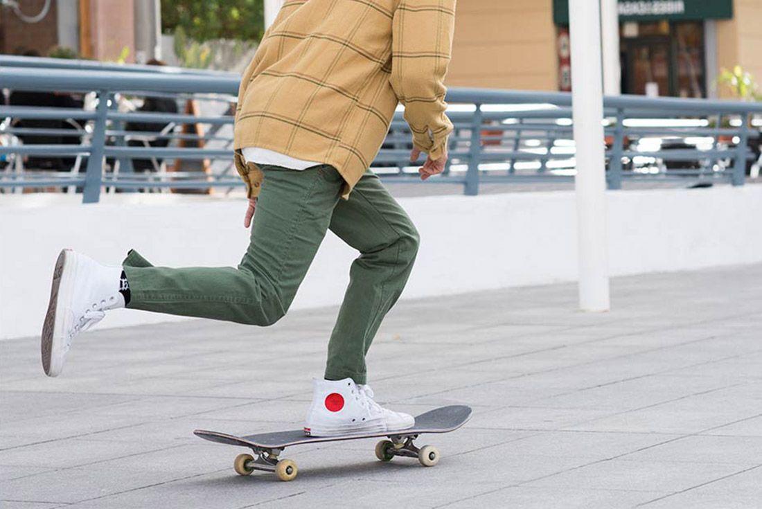 Chocolate Skateboards Converse Cons 4