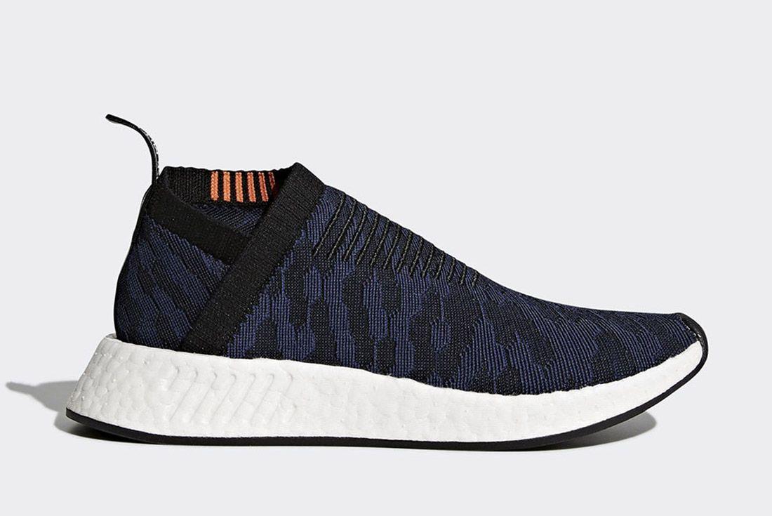 Adidas Nmd Cs2 Core Black Noble Indigo White Sneaker Freaker 7