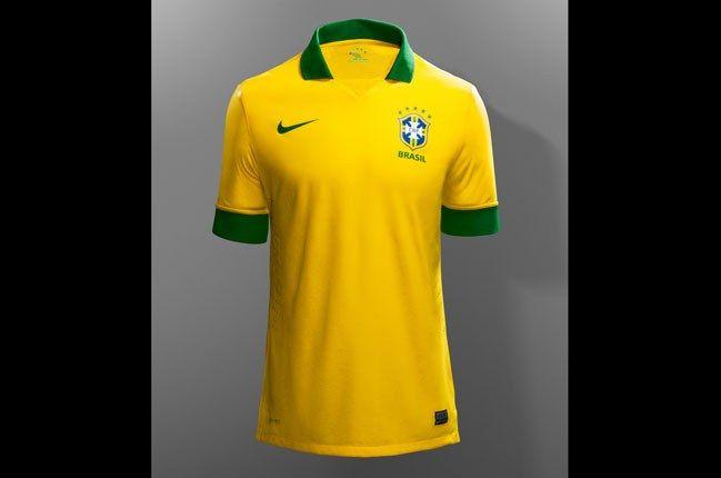 Nike Football Brazil Home Jersey 1