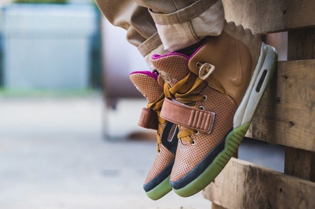 Nike Air Yeezy 2 Custom Maggi 9