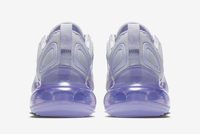 Nike Air Max 720 Oxygen Purple Ar9293 009 Heel Shot 2