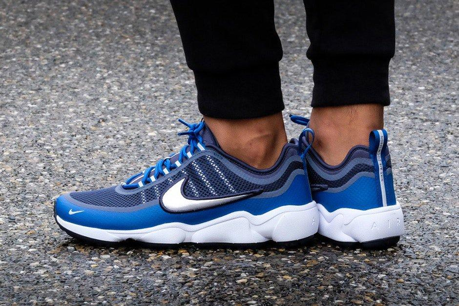 Nike Air Spiridon Ultra Metallic Silver Blue 2