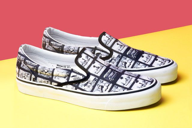 Mickey Mouse X Opening Ceremony X Vans Steamboat Willie Perspective