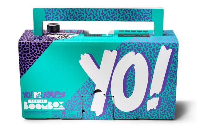 Berlin Boombox Yo Mtv Raps Boombox 4