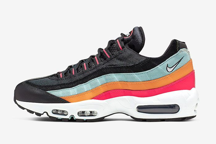 Nike Air Max 95 Black Kumquat Side
