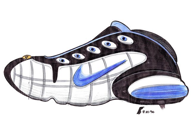 The Making Of The Nike Air Penny 6 1