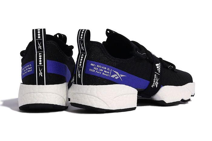 Adidas Reebok Sole Fury Boost Black White Fw0168 Release Date Heel