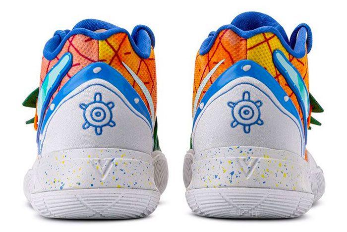 Nike Kyrie 5 Spongebob Squarepants Pineapple House Heel