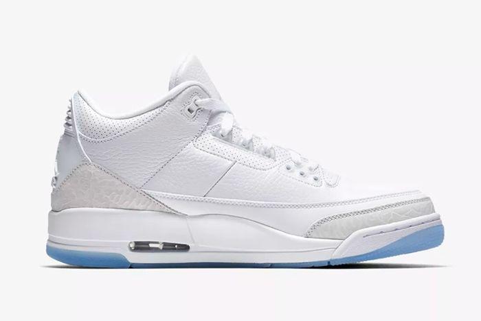 Air Jordan 3 White 2