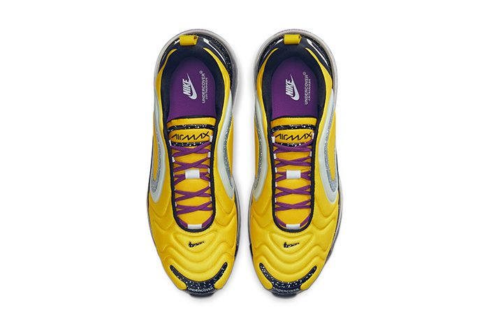 Undercover Nike Air Max 720 Yellow Release Date Top Down